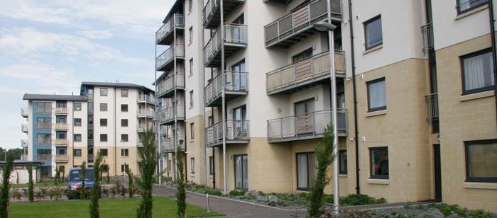 Aspect, Edinburgh - Haymarket Residential Project